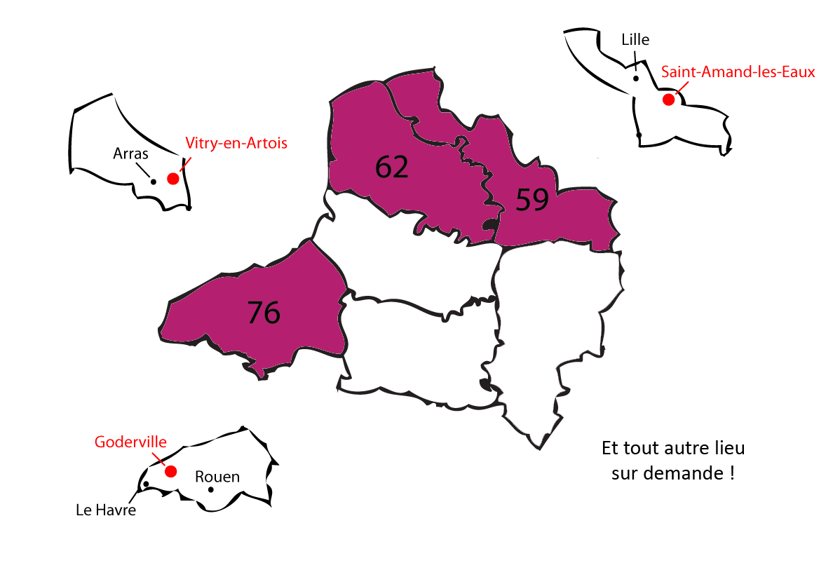 carte departements 3